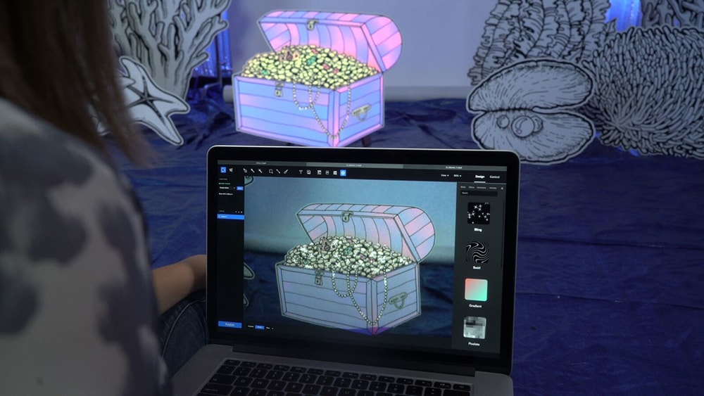 Projected AR & Motion Graphics Made Easy with Lightform