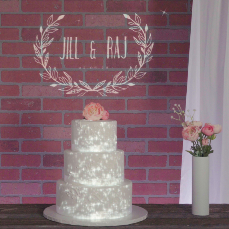 Projected AR Wedding Cakes